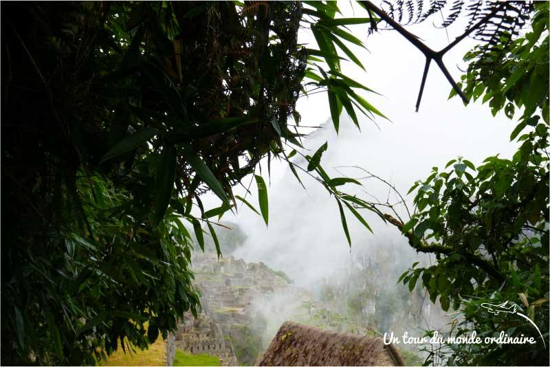 Machu Picchu, comme des morceaux d'éternité