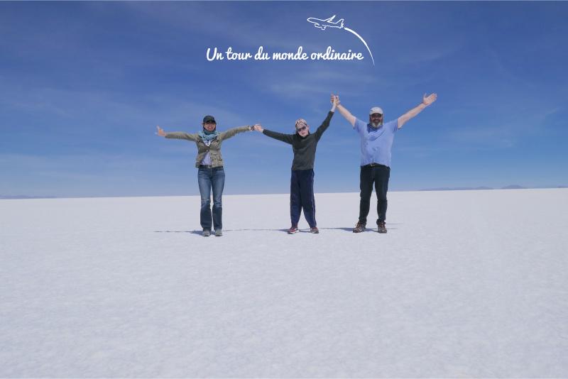 Le ciel, le soleil et le sel, le Salar d'Uyuni
