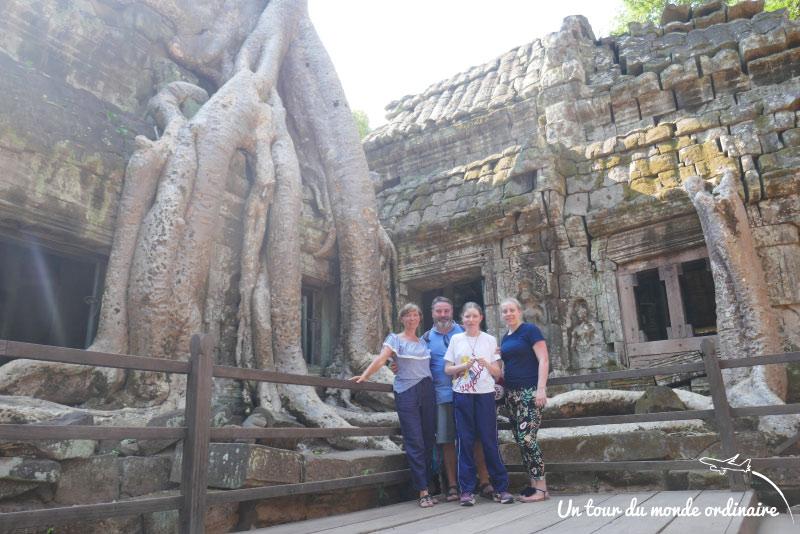 Siem Reap, les temples d'Angkor