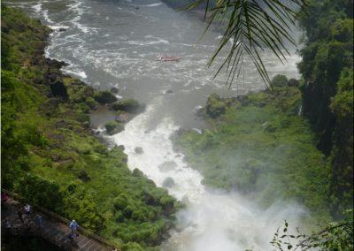Iguacu-Argentine-chutes-bateau-palmier